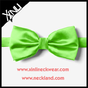 Silk Woven Wholesale Custom Bow Ties Solid for Men pictures & photos