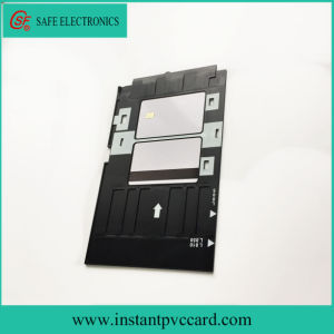 Plastic Inkjet PVC Card Tray for Epson R380 Printer pictures & photos