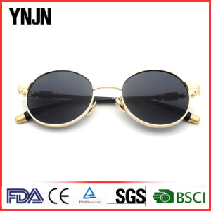 New Model Ynjn Round Custom Sunglass Lenses Mirrored (YJ-F83487) pictures & photos