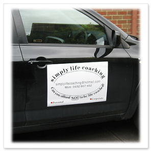 Turn Your Car Into a Mobile Marketing Tool Magnetic Signs pictures & photos