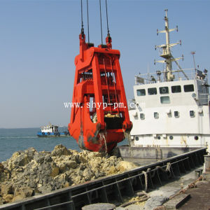 Mechanical Four Ropes Dredging Grab pictures & photos