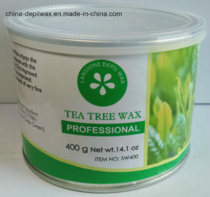 Tea Tree Depilatory Wax Soft Strip Wax 400g Can pictures & photos