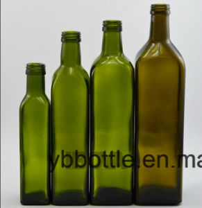 250/500/750ml Olive Oil Glass Bottles pictures & photos