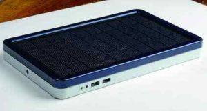 Haochang Dual USB Portable Solar Power Bank External Battery for Outdoor Use pictures & photos