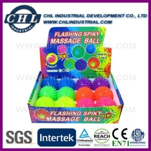 Manufacturer 49mm LED Flashing TPU Bouncy Ball for Kids pictures & photos