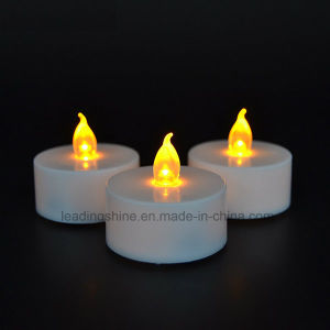 Cr2032 Battery Operated LED Flameless Flickering Tea Light Candles pictures & photos