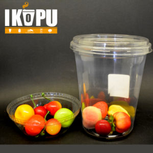 32oz Pet Disposable Plastic Salad Cups pictures & photos