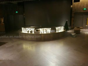 Plastic LED Marquee Letters Home Decorative Light 26 Alphabat LED Letters Lighting pictures & photos