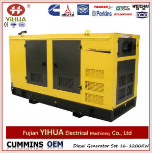 Canopy Diesel Generators with Perkins Engine From 7kw to 1800kw pictures & photos