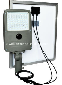 Monocell 1000 Cycle Lithium Battery 10-50W LED Solar Street Light pictures & photos
