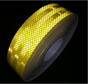 Industry Leading Aggressive Adhesive Reflective Tape Roll Great Visual Aid for Trailers pictures & photos