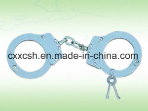 Nij Carbon Steel Handcuffs for Police pictures & photos