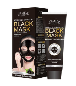 Propolis Bamboo Charcoal Black Mask for Sucked Dirt Deeply pictures & photos