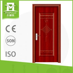 Size Customized Modern Wooden Door with Glass pictures & photos