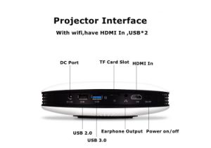 New Type Android Mini Home Cinema DLP Projector pictures & photos
