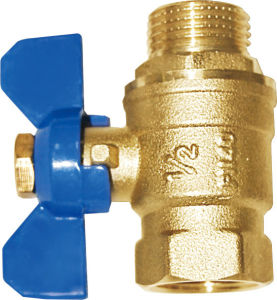 The High Quality Within The Thread Tooth Brass Ball Valve pictures & photos