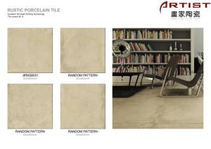 Cement Look Rustic Porcelain Tile - Customized Pattern Size 600X600 pictures & photos