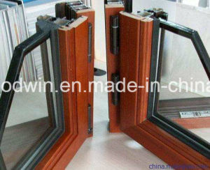 2017 New Design Aluminum Clad Wood Casement Window/Tilt and Turn Window pictures & photos