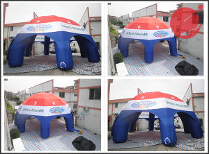 Colorful Shinning Design Tarpaulin Inflatable Tent for Exhibition Trade Show Event Tent1-300 pictures & photos