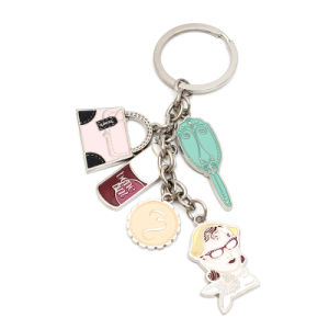 High Quality Multi Charms Metal Keychain pictures & photos
