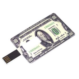 Promotional USB Flash Card 1GB Pen Drive Can Print Logo (TF-0424) pictures & photos