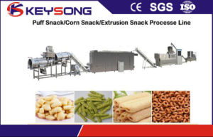 Corn Kurls Puff Snacks Processing Line pictures & photos