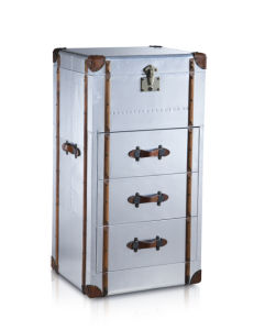 Aviator Aluminum Side Cabinet, Aluminum with Wood Strip Cabinet Rtk-59 pictures & photos