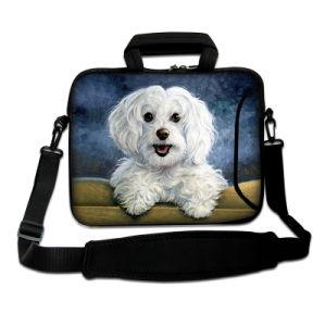 "Pug 15""-15.6"" Universal Laptop PC Carry Bag Sleeve Case W/Shoulder Strap, Pocket pictures & photos"