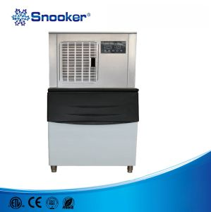 Snooker 304 Stainless Steel Cover 1500kg Flake Ice Machine for Fish pictures & photos