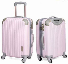 Colorful Customized Available ABS Travel Hard Side Carry on Case / Suitcase pictures & photos