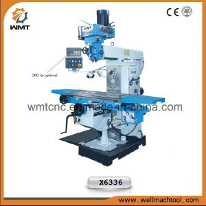 Universal Milling Machine X6336WA for precision metal cutting pictures & photos