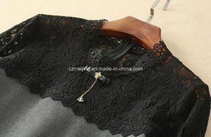 Polyester&Cotton Women`S Restonic Dress pictures & photos