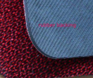 Red Flocking Floor Mat Kitchen Mat Door Carpet Rubber Rug