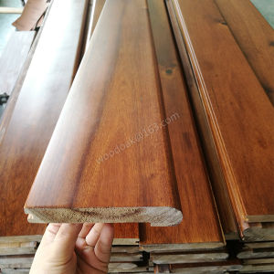 Big Leaf Acacia Hardwood Stairnose Solid Stairnose Flooring Accessories pictures & photos
