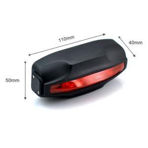 Bicycle Taillight Design Tracker T18/T18h Car Anti-Theft Alarm Tracking Device pictures & photos