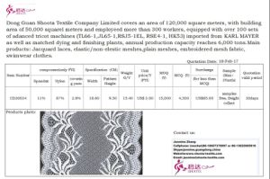 Embroidery Lace Fabric Trimming for Lady′s Dress Bra Underwear at Reasonable Price pictures & photos