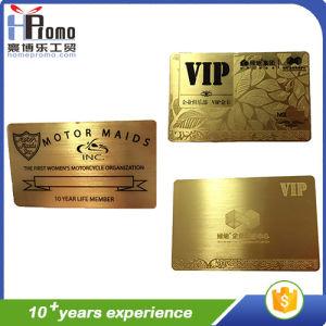 Custom High Shiny Metal Card/Name Card pictures & photos