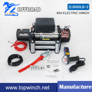 DC 12V/24V Electric Winch Recovery Winch (8000lb-2) pictures & photos