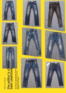 10oz Skinny Jeans with Abrasions in Light Wash (HS-21701T) pictures & photos