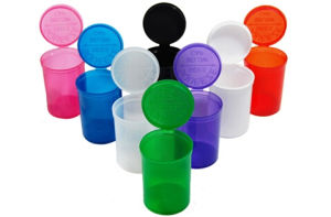 Prescription Pill Bottle Container Pop Top Vials pictures & photos