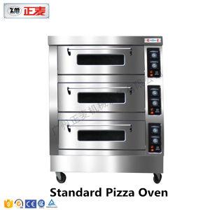 3 Doors and 6 Trays Electric Stainless Steel Door Deck Oven (ZBB-306D) pictures & photos