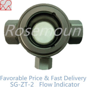 Three Way Connection Sight Flow Indication for Flowmeter pictures & photos
