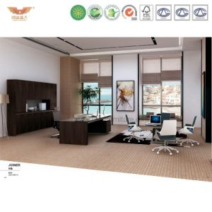 Modern Office Furniture L Shape Wooden Executive Desk (JOINER-ED26) pictures & photos