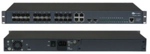 1u 10g Ports Optical Fiber Ethernet Switch pictures & photos