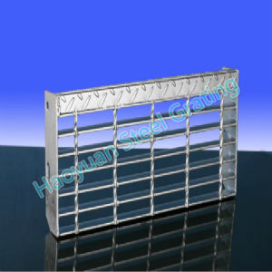 Different Applications of Steel Grating Stair Tread Series Six pictures & photos