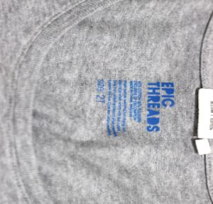 Design Washing Instructions Label Transfer Heat Transfer Clothing Label for Cotton T Shirt pictures & photos