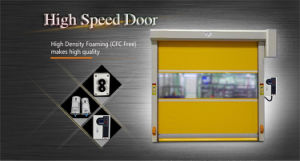 Automatic Industrial PVC Fast Door pictures & photos