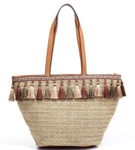 Tassel Beach Women Tote Bags Ladies Cotton Bag