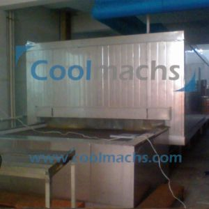 Seafood Dough Belt Tunnel Quick Freezer IQF pictures & photos