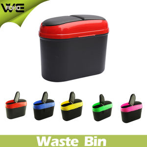 High Quality Car Dustbin Plastic Waste Bin Container pictures & photos